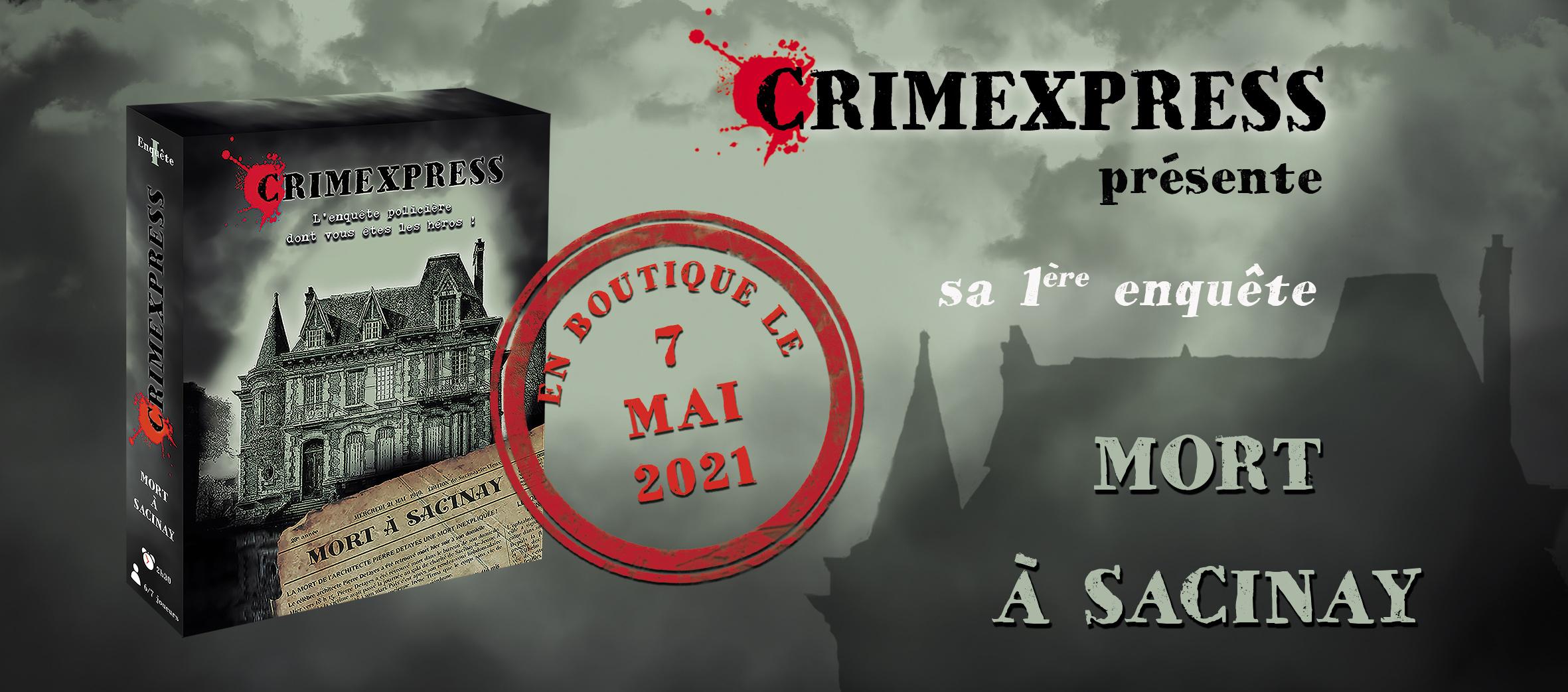 Sortie en boutique de Crimexpress Mort à Sacinay